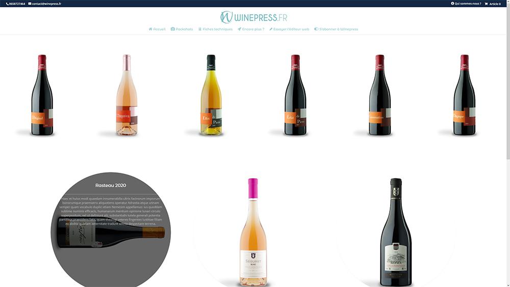 Présenter ses vins 02